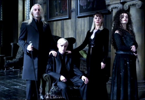 Draco,(my beloved son), Lucius (my dear husband), Bellatrix and Andromeda (my wonderful sisters).