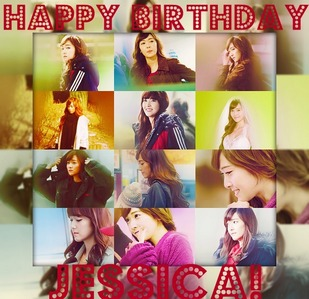 Made this myself. Hope this one's ok. :) Happy Birthday Jessica! Wishing あなた all the best! Keep it up. :)