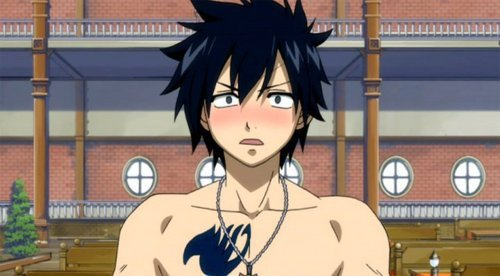 Gray Fullbuster from Fairy Tail!