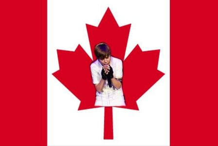 Scotland And Canada and United States Of Bieber!:P