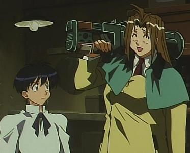 Let me spread some feminine beauty before this place gets overrun sejak males. My waifu would be Milly Thompson from Trigun (absolutely no relation to the Thompson sisters from Soul Eater). Not only is she cute, but she's sweet, caring, and friendly. Not to mention that she has a huge-ass stun gun (and who WOULDN'T want a wife who uses a huge-ass gun... even if it's just a stun gun?). Plus, when anda let her drink too much and get drunk and she starts to feel warm... *drools*