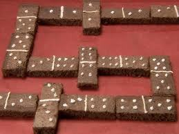Depends..... Do bạn have a life time supply of brownies as payment???? These are the ones that I want *points down* :D Domino Brownies!!!:D:D