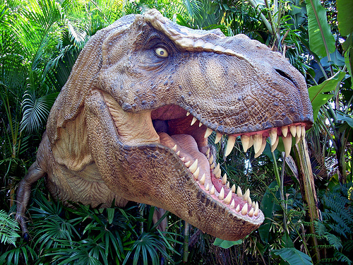 Tyrannosaurus Rex!!!It&#39;s the most fearsome dinosaur and the first one that comes to mind when you think about dinosaurs
