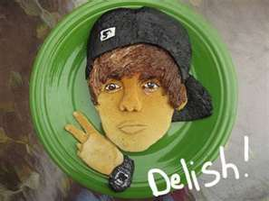 i like................ Justin Bieber,and pancakes, and put them together u get the hottest pancake in the world