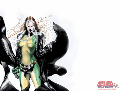 There's far too many people on my mind at one time. Yes (I'm fucked up like that) At the moment it's Rogue from X-men