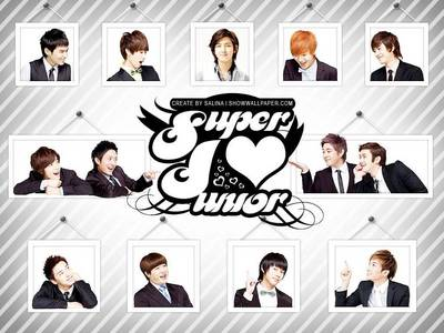 Super Junior is forever the Last Man Standing and the reason why I loved them is because of their charming characteristic and their heart... they are handsome and talented.everyone has their own specialty that make the world fall in Amore with them...