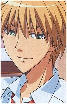 Does anime count as cartoons? oh well imma put an anime character anyways so Usui Takumi from Kaichou wa maid sama! teehee :3