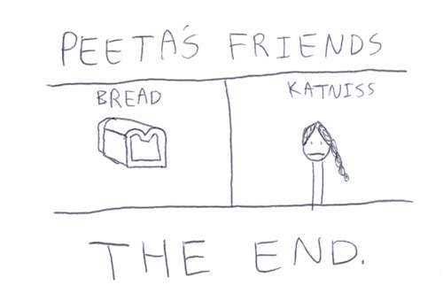 Hunger Games and Peeta Mellark <3