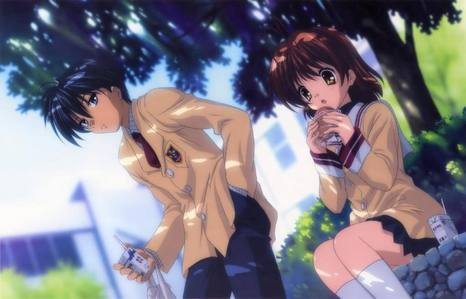 I'd Be Tomoya Okazaki From Clannad Because He's Got NAGISA.