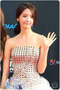 yoona in dress...