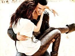 Hes holding Kristen
