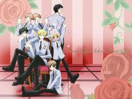"""Ouran High School Host Club has to do with a group of guys that are rich and greet some guests. Some poor """"guy"""" was forced to get in with them to pay for some vase she broke. I am not explaining more, just read または watch it. It's awesome. :3"""