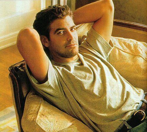 I choose George Clooney. He is sooo attractive!