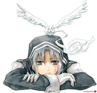 Allen Walker from D.gray man, he dah bomb :P