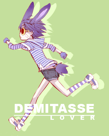 Demi from Death Brigade. :D Happy easter!