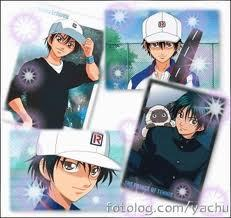 Ryoma echizen the prince of tennis^_^ I like him 'cause his cute and his attitude stubborn^^
