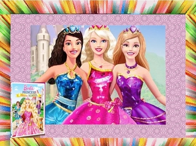 barbie princess chsrm school