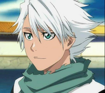 My first crush was Toshiro Hitsugaya from Bleach and i still Любовь him! :)