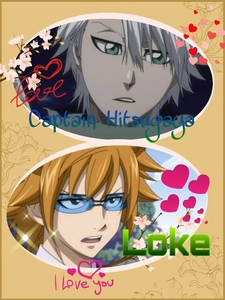 I upendo Captain Hitsugaya from Bleach and Loke/Leo from Fairy Tail!! :)
