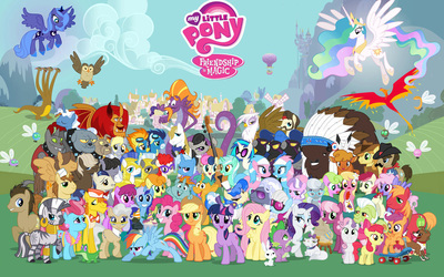 My Little pony Friendship is Magic <333
