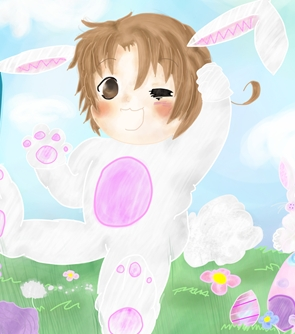 well ok. HAPPY EASTER! don`t te think Italy looks adorable in bunny ears?