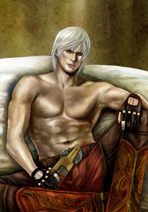 dante sparda <3<3<3<3<3<3 and werewolfs i want 2 be one SO BAD