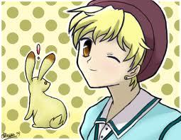 momiji XD Amore momiji and happy easter to all <3