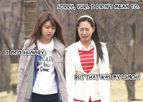 Bad girl Sooyoung!!! lol