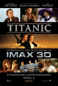 I didn't cry, which was dissappointing, but I did hear girls around me crying. And that was well worth it! I love that Titanic can touch so many people on such a deeply personal level. Being able to share such a special movie and going on the journey together with complete strangers is a treat that you can't experience when you watch the DVD in your own home.
