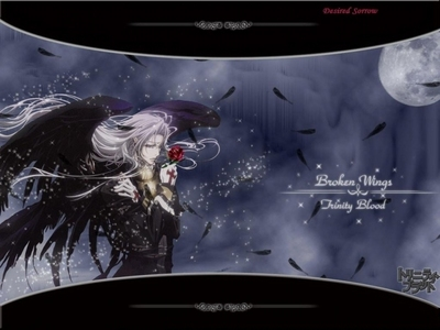 Both Trinity Blood and Blood + for sure. Both are very good too. Pic. from Trinity Blood.