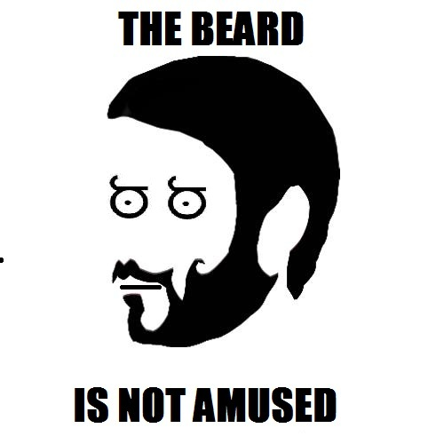 The beard told them to.