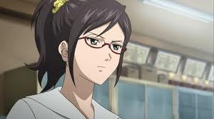 My friends says i act like Kikuno Asahina atau Daisy-chan from Sket-dan..... I do wear glasses and i always being called on oleh teachers to answer I'm also a part of my school officials and i'm the editor. They also thinks that i'm very serious about things. and i cinta putting my hair in ponytail.