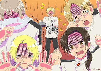 Hetalia:3 (for me) funniest anime I've ever seen