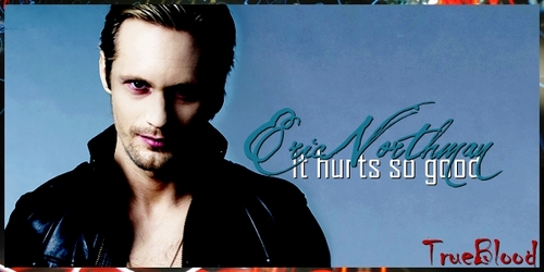 Hard choice, I'll just post Eric Northman from True Blood even though he's not necessarily my inayopendelewa because there are too many characters I love.