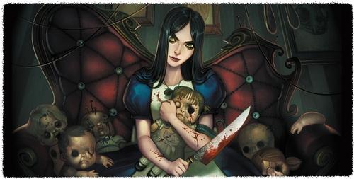 Alice Liddell. She is one of my many inayopendelewa characters (: