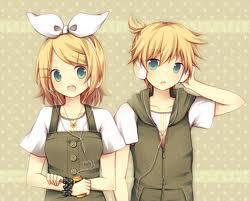 The Kagamine twins. (Screw <i>real</i> people!)