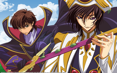 I can think of some shocking moments, humm,ending? from what I've seen so far that would be, Code Geass