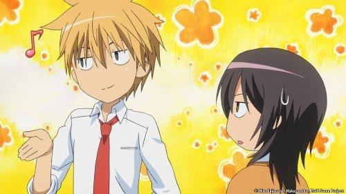 Kaichou wa maid sama is good if anda like shojo anime and it is mainly based around school life.