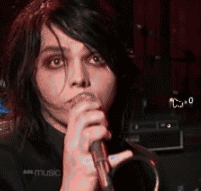 G. Cause of Gerard Way. I didnt know I was this alone.