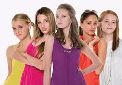 the way she describes them in the book. DYLAN: the red head,she has curly hair until book 9. thinks she's fat but really isnt MASSIE: brunette,the leader,likes purple ALICIA: black hair,the richest,spanish beauty,ralph lauren lover KRISTEN: dirty blonde,sports lover,poor CLAIRE: blonde,newest member,lives in massies guest house