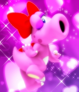 """Birdo is a female. If most of te dont already know, Nintendo messed up on the video game manual Super Mario Bros 2 stating that and I quote """"He thinks hes a girl and would rather be called Birdetta."""" This was one mistake, the other being Ostro and Birdos names being mixed up in the game credits and the manual. They confirmed that it was a mistake and fixed it in the remake Super Mario Advanced for the Gameboy Advanced. Also, they detto that Birdo was a female since the very beginning. Birdo has always been portrayed as a female ever since the mistake, evrn before the mistake occured. If Birdo was a male, how come she has purple eyes, eyelashes, purple eye makeup, a beautiful red bow on her head, a diamond ring on her left hand and has a very VERY special relationship with Yoshi ever since she made her debut on Mario tennis for the Nintendo 64? And on superiore, in alto of all that, she COMPLETELY ACTS LIKE A FEMALE. She hasnt been seen NOT recitazione like a female. Now back to Yoshi's relationship with Birdo. It was like Amore at first sight for the two dinos. They automatically became partners ever since they met each other. Its pretty clear that they Amore EACH OTHER very much. And another lthing...u kno how animal know wats a boy from a girl? Well if u didnt notice Yoshi an animal...a dino to b exact a and this dino aint stupud. Yoshi KNOWS Birdos a GIRL not no GUY!! Otherwise that they wouldnt b together like they ARE NOW!!! So Birdos a girl. Always HAV BEEN , ALWAYS WILL B!!!!! Get ur facts straight people!! Oh and work on ur observation skills and so called research!!!"""