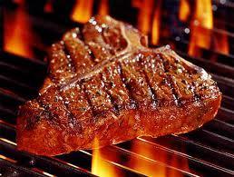 ooh, STEAK!I upendo steak! wewe do too! I like you! Irresistible!