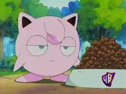 Jigglypuff is not amused. -_-
