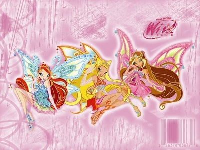 I have a feeling they are : Bloom,Stella And Flora, :) What do आप all think ? :)