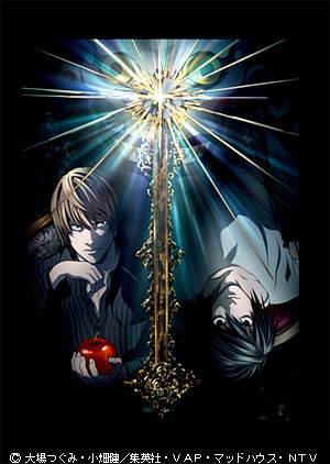 death note... what is genre of Death Note actually??? I really dont understand,I go to website animeseason.com and check on Death note genre,,they writed Shounen,but when I 검색 a image on google,they show an 'yaoi Death note',,why,huh???!! but never mind,,;)