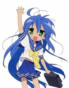 Konata Izumi!!! I'm suprised no one has পোষ্ট হয়েছে her yet, she's my fave :3