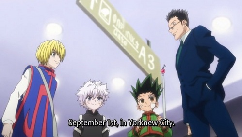 Hunter X Hunter (old and new version)XD