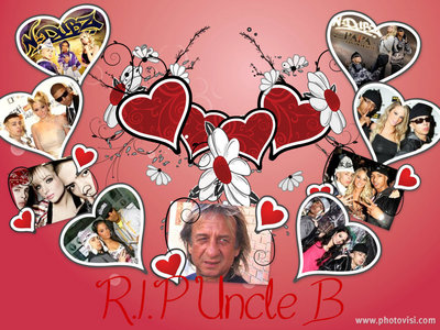 This is my artwork - a tribute to Uncle B <3
