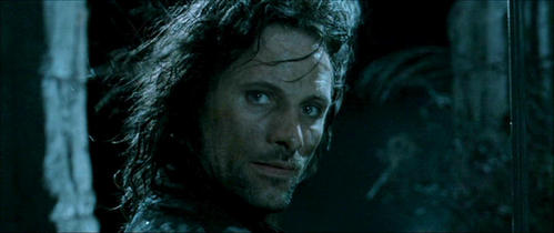 Aragorn. I love him!!! He's just sooo awesome!!! And to a lesser degree Legolas.