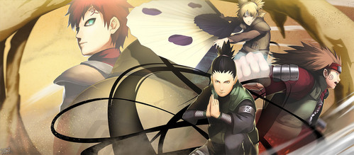 The Fourth Division by Wei on pixiv. Her art is always amazing, and she's definitely my favorite Naruto fanart artist.